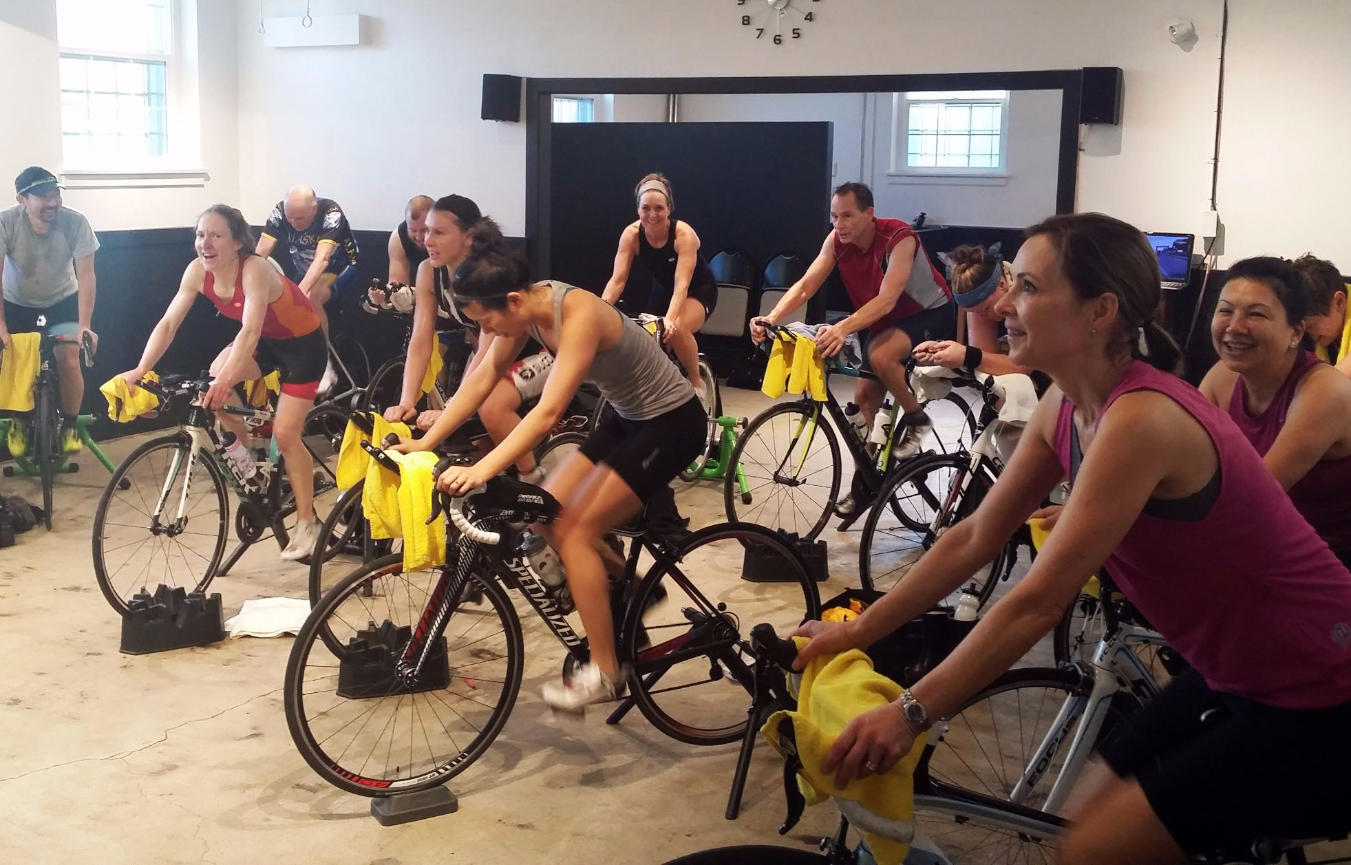 Vancouver Indoor Cycling Workouts