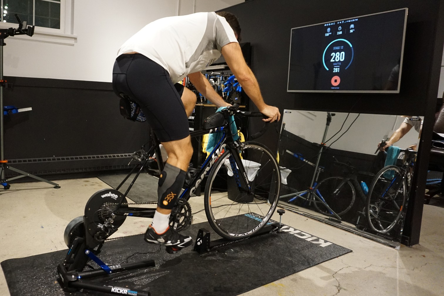 Power and Heart Rate Cycling Test